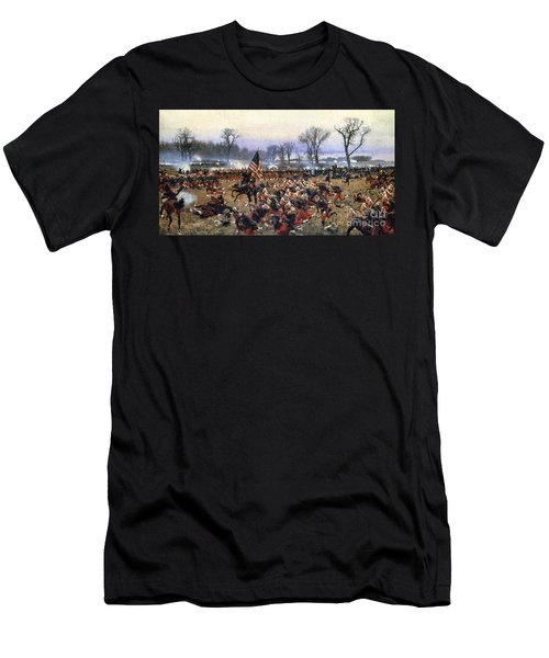 Battle Of Fredericksburg - To License For Professional Use Visit Granger.com Men's T-Shirt (Athletic Fit)