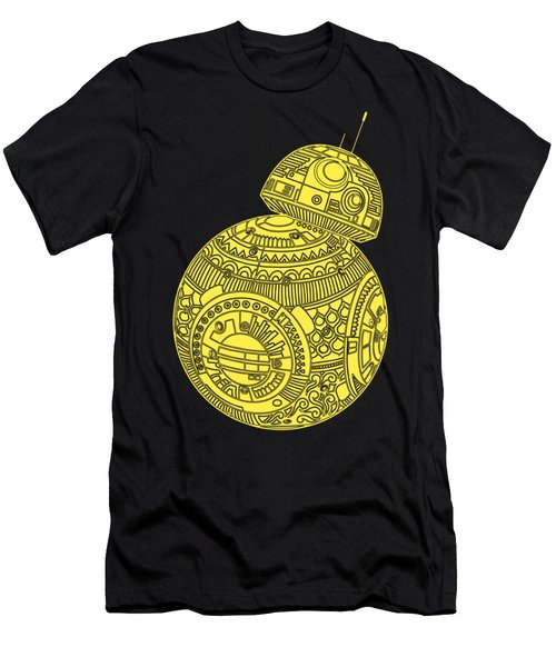 Bb8 Droid - Star Wars Art, Yellow Men's T-Shirt (Athletic Fit)