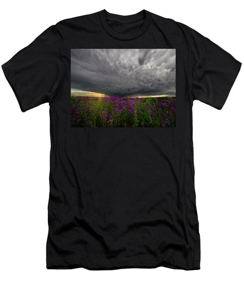 Men's T-Shirt (Slim Fit) featuring the photograph Beauty And The Beast by Aaron J Groen