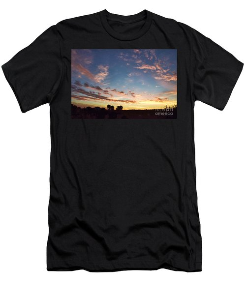 Beauty Is A Cherished Gift From God Men's T-Shirt (Slim Fit) by Sharon Soberon