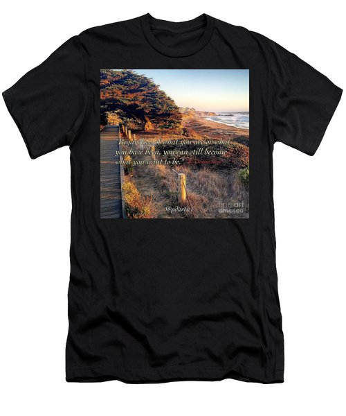 Becoming Men's T-Shirt (Athletic Fit)