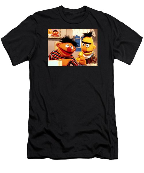Bert And Ernie Men's T-Shirt (Athletic Fit)