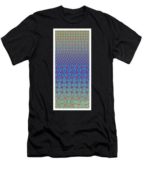 Bibi Khanum Ds Patterns No.3 Men's T-Shirt (Athletic Fit)