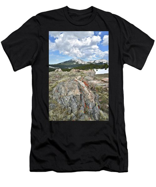 Big Horn Pass In Wyoming Men's T-Shirt (Athletic Fit)