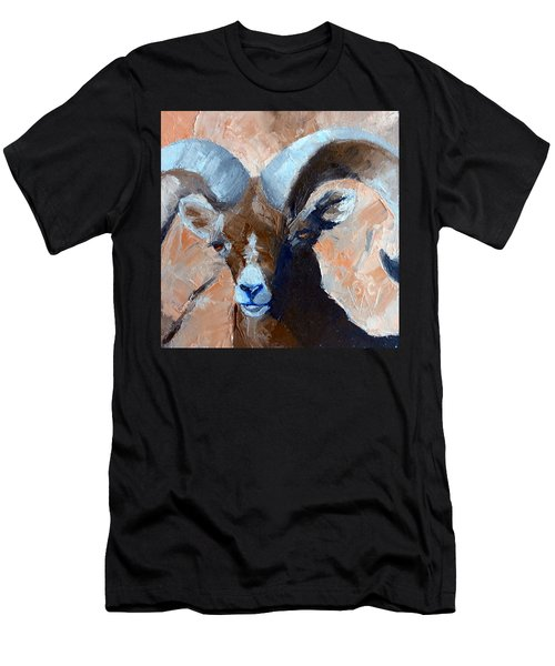 Bighorn Sheep Men's T-Shirt (Slim Fit) by Susan Woodward