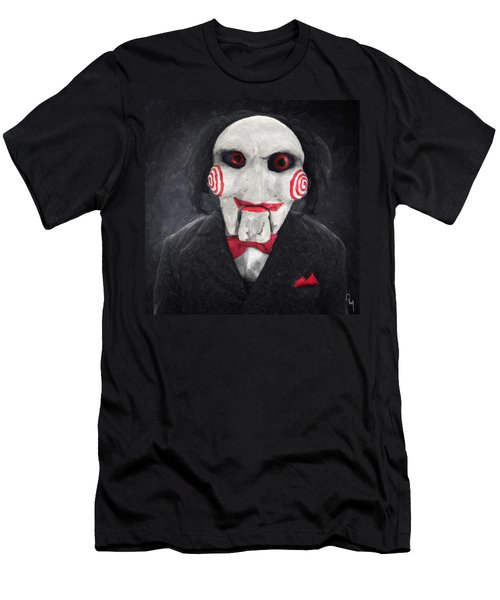 Billy The Puppet Men's T-Shirt (Athletic Fit)