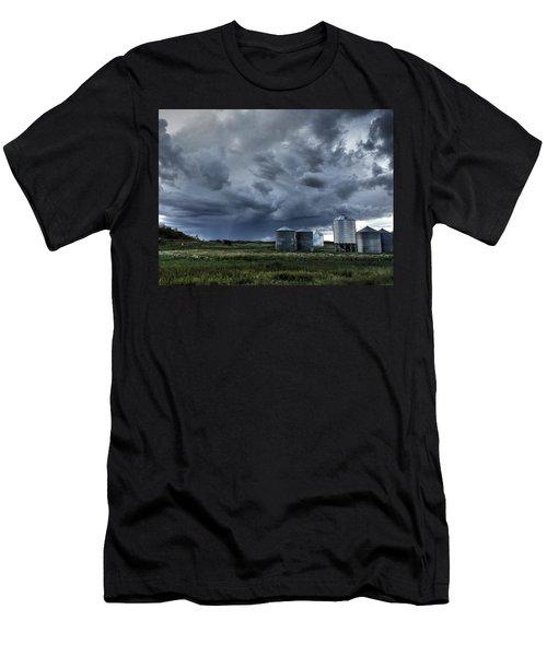 Bins Men's T-Shirt (Athletic Fit)
