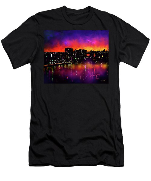 Biscayne Bay, Miami Men's T-Shirt (Athletic Fit)