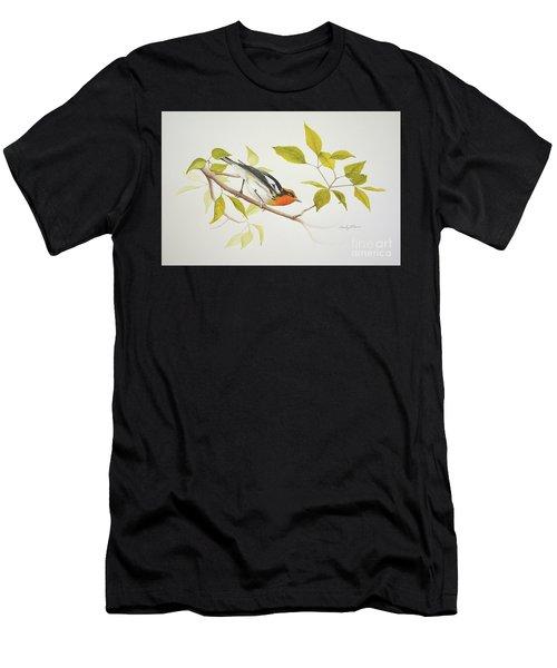 Blackburnian Warbler Men's T-Shirt (Athletic Fit)