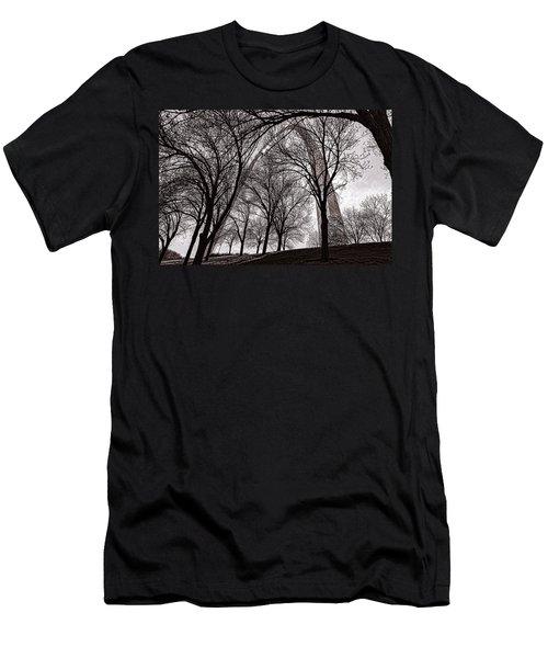 Blending In Men's T-Shirt (Athletic Fit)