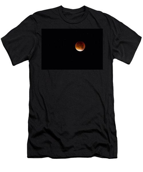 Blood Moon Super Moon 2015 Men's T-Shirt (Athletic Fit)