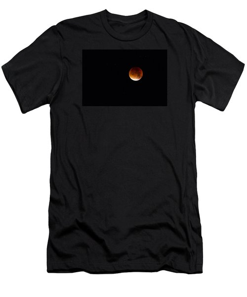 Blood Moon Super Moon 2015 Men's T-Shirt (Athletic Fit)