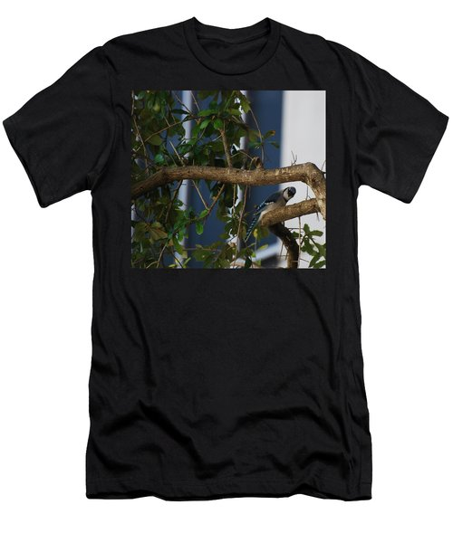 Men's T-Shirt (Slim Fit) featuring the photograph Blue Bird by Rob Hans