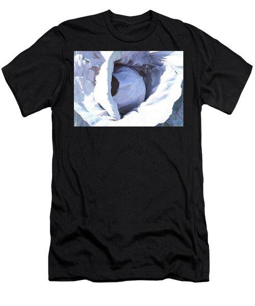 Blue Cabbage Men's T-Shirt (Athletic Fit)