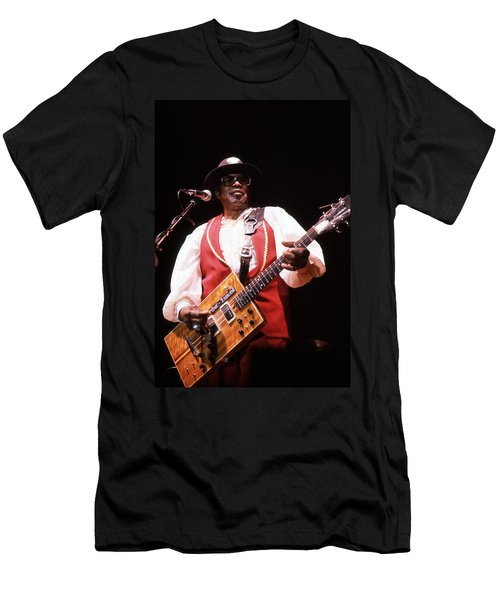 Bo Diddley Men's T-Shirt (Athletic Fit)