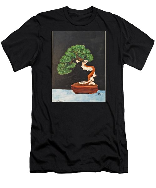 Bonsai-1 Men's T-Shirt (Athletic Fit)