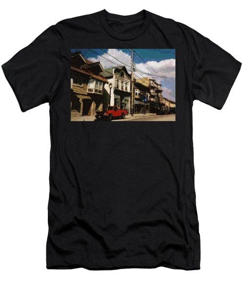 Brady Street Scene Men's T-Shirt (Athletic Fit)