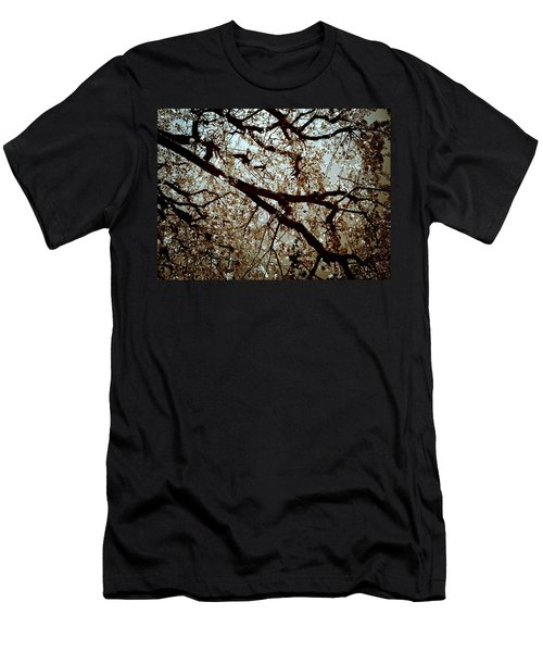 Men's T-Shirt (Athletic Fit) featuring the photograph Branch One by Lucian Capellaro
