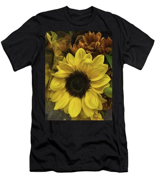 Bright Bouquet Men's T-Shirt (Athletic Fit)