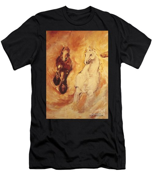 Bringers Of The Dawn Section Of Mural Men's T-Shirt (Athletic Fit)