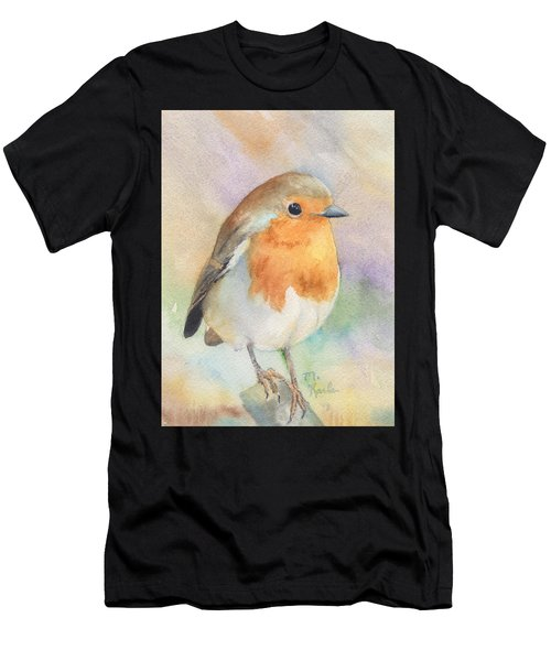 British Robin Men's T-Shirt (Athletic Fit)