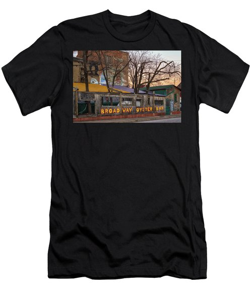 Broadway Oyster Bar Men's T-Shirt (Athletic Fit)
