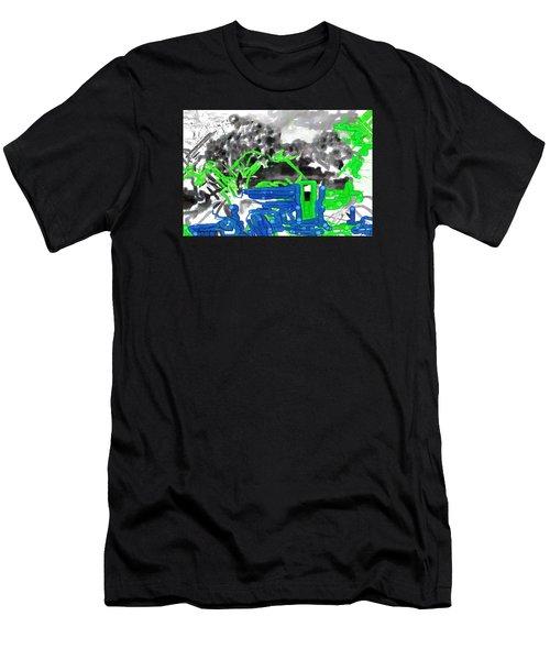 Broken Homes Men's T-Shirt (Athletic Fit)