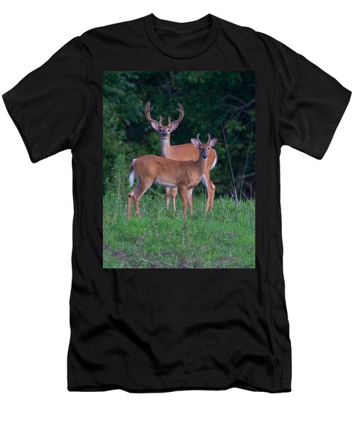 Buck Father And Son Men's T-Shirt (Athletic Fit)
