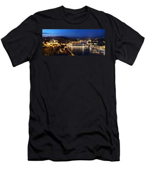 Budapest. View From Gellert Hill Men's T-Shirt (Athletic Fit)