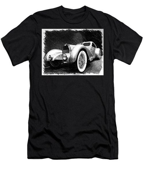 Bugatti Type 57 Aerolithe Men's T-Shirt (Athletic Fit)