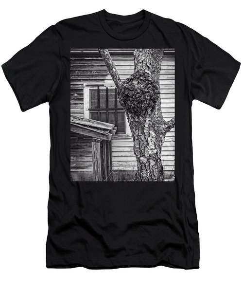 Burl And Window Men's T-Shirt (Athletic Fit)