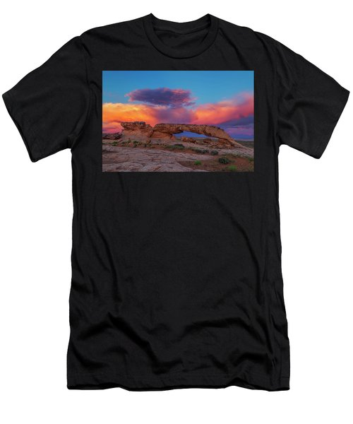 Burning Skies Men's T-Shirt (Athletic Fit)
