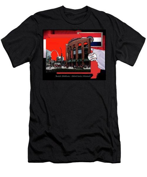 Busch Stadium Saint Louis Missouri Men's T-Shirt (Athletic Fit)
