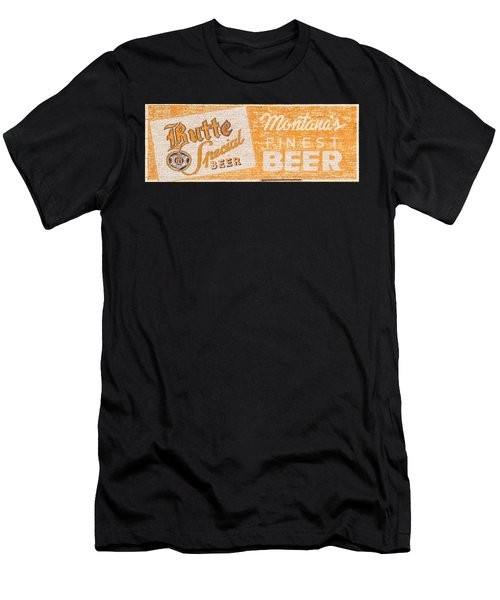 Butte Special Beer Ghost Sign Men's T-Shirt (Athletic Fit)