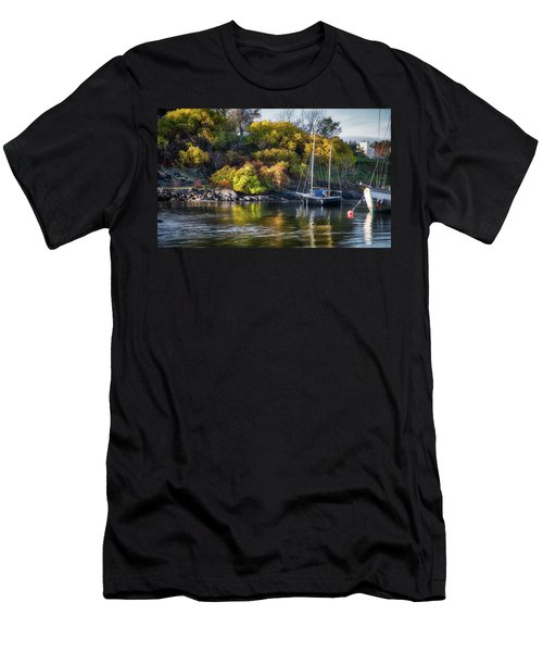 Bygdoy Harbor Men's T-Shirt (Athletic Fit)