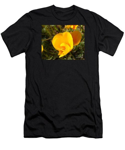 California Poppy Men's T-Shirt (Athletic Fit)