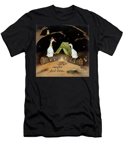 Campfire Ghost Stories Men's T-Shirt (Athletic Fit)