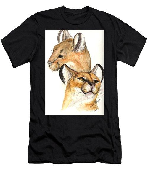 Caracal Men's T-Shirt (Athletic Fit)