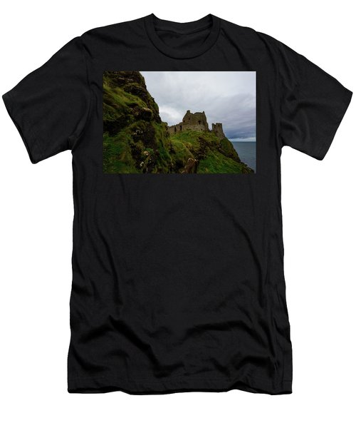 Castle By The Sea Men's T-Shirt (Athletic Fit)