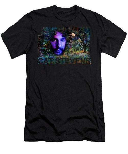 Cat Stevens Men's T-Shirt (Athletic Fit)