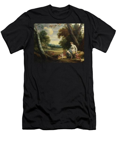 Ceres And Harvesting Cupids Men's T-Shirt (Athletic Fit)