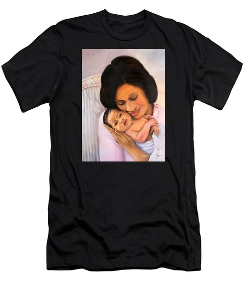 Chanelle And Kaycee Victoria Men's T-Shirt (Slim Fit) by Marlene Book