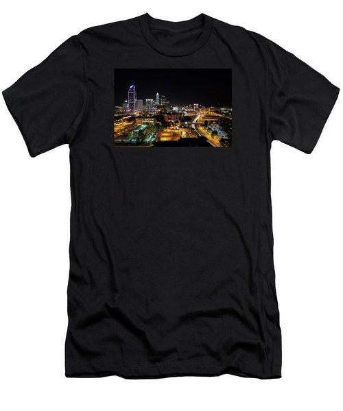 Charlotte Skyline Men's T-Shirt (Athletic Fit)