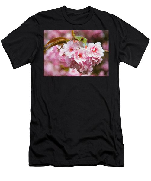 Cherry Blossom Men's T-Shirt (Athletic Fit)