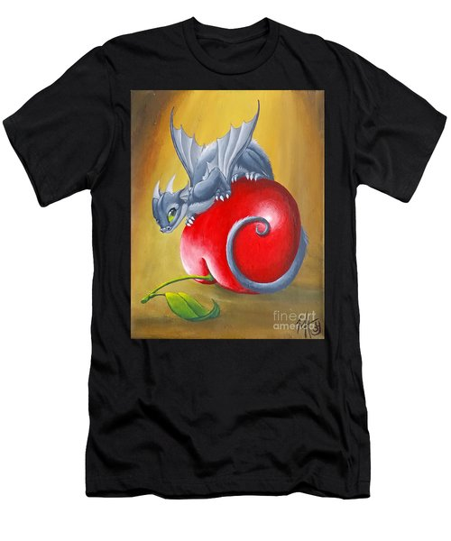 Cherry Dragon Men's T-Shirt (Athletic Fit)