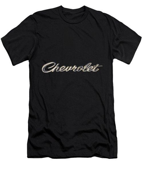 Chevrolet Emblem Men's T-Shirt (Athletic Fit)