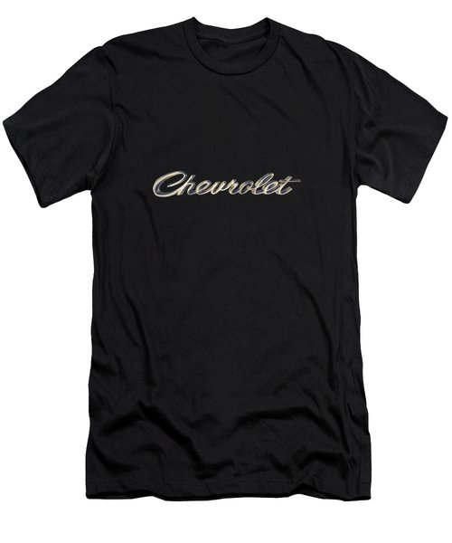 Chevrolet Emblem Men's T-Shirt (Athletic Fit)