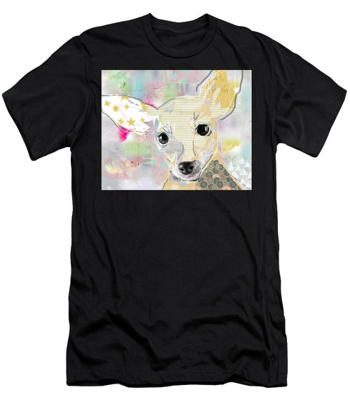 Chihuahua Collage Men's T-Shirt (Athletic Fit)