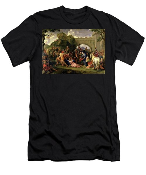 Christ Carrying The Cross Men's T-Shirt (Athletic Fit)