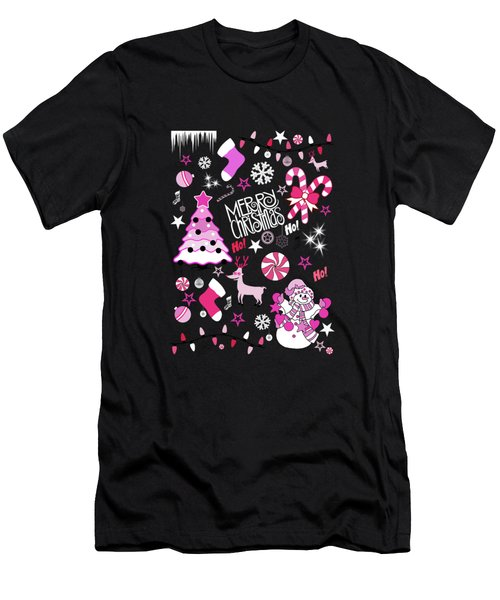 Christmas Men's T-Shirt (Athletic Fit)